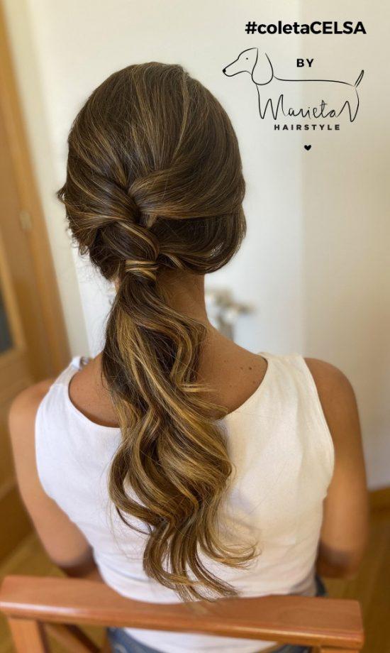 Marieta Hairstyle coletaCELSA