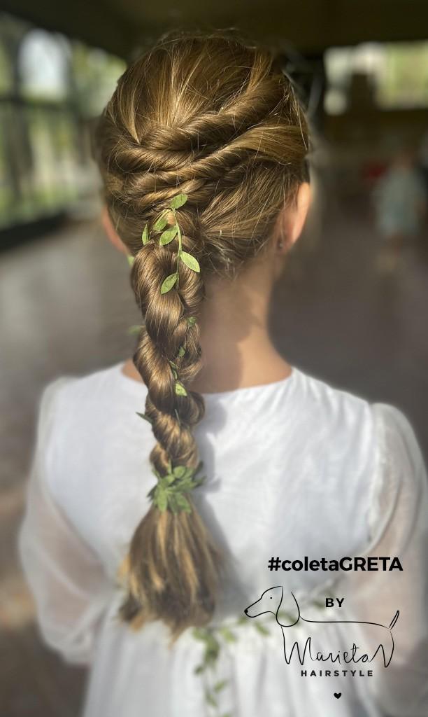 Marieta Hairstyle coletaGRETA